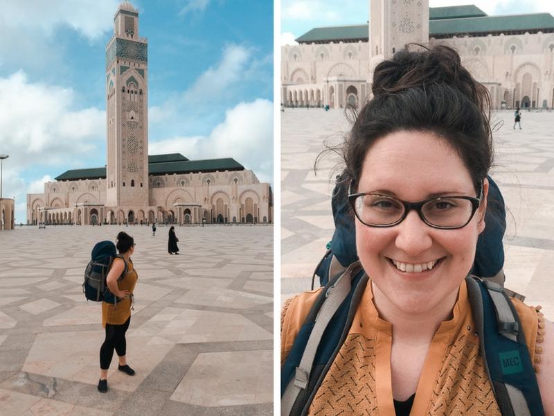 Annie Anywhere à Casablanca, au Maroc
