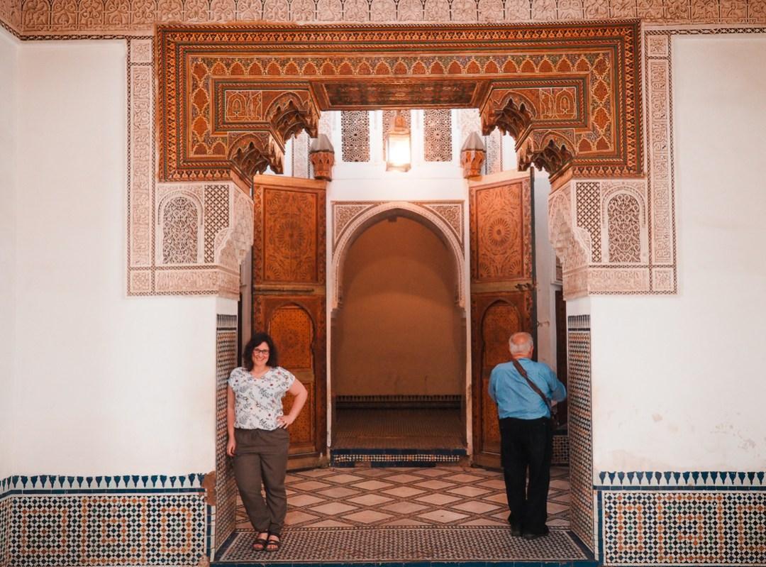 Annie Anywhere à Marrakech