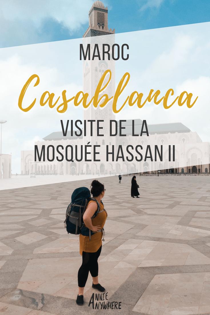 J'ai adorée la mosquée Hassan II au Maroc. C'est pour moi un incontournable lors d'un premier voyage. #Maroc #Morroco #voyage #Maghreb