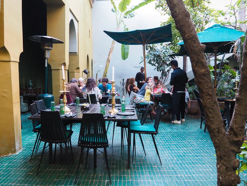 Restaurant Le Jardin de Marrakech