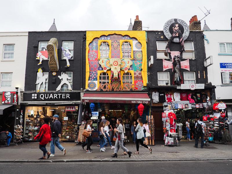 Boutiques excentriques du quartier Covent Garden de Londres