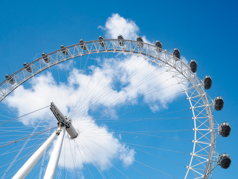 La grande roue de Londres: le London Eye