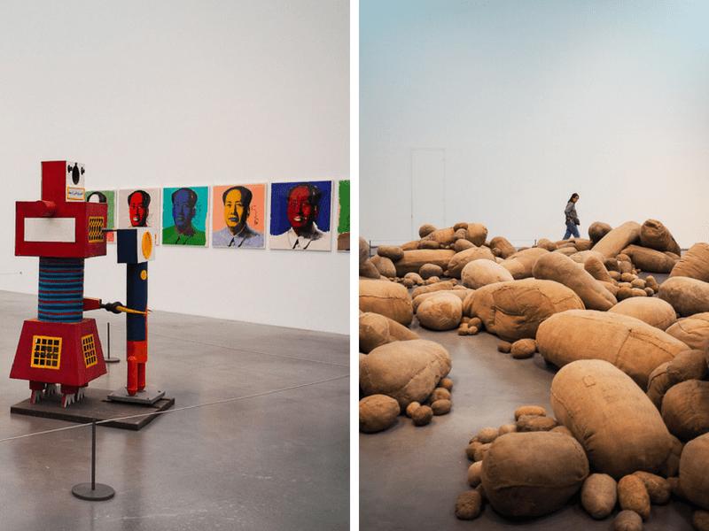 Visite du musée d'art Tate Modern à Londres