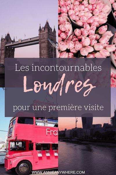 Il m'a fallu trois visites à Londres pour rassembler avec confiance une liste d'incontournables à visiter lors d'une première visite. Découvrez mes coups de coeur par quartier, des itinéraires de visite ainsi que quelques conseils pour profiter de Londres au maximum lors d'un voyage en Angleterre. #Londres #voyage