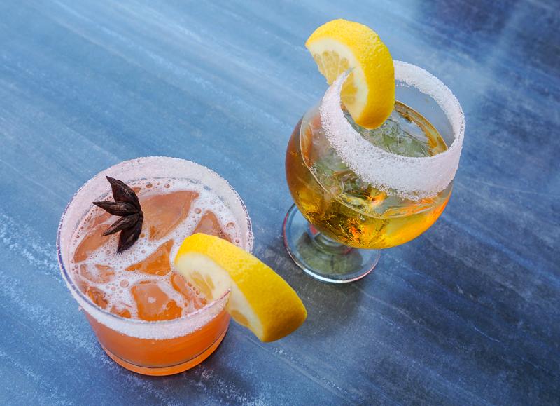 Cocktails du Pub L'Ours noir de Warwick