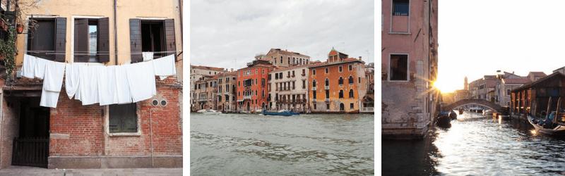 Venise et ses mille canaux à découvrir