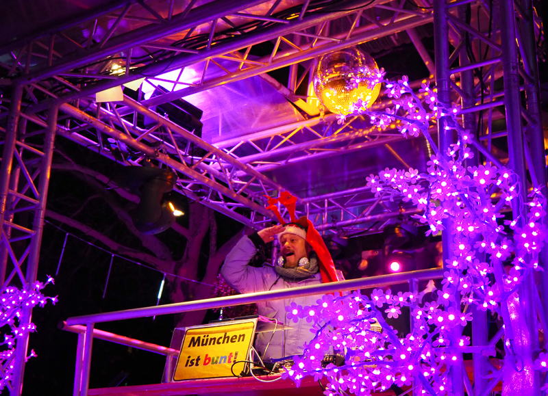 DJ au Pink Market de Munich