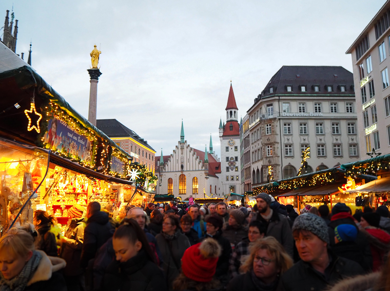 Marché de Noël de Marienplatz à Munich