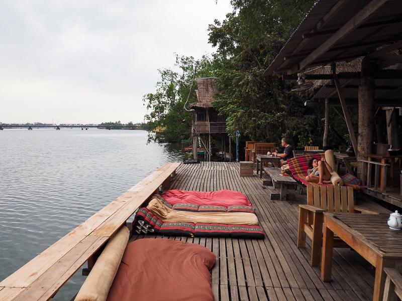 Auberge de jeunesse à Kampot au Cambodge