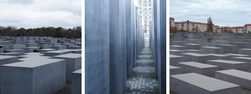 Mémorial aux Juifs assassinés d'Europe à Berlin