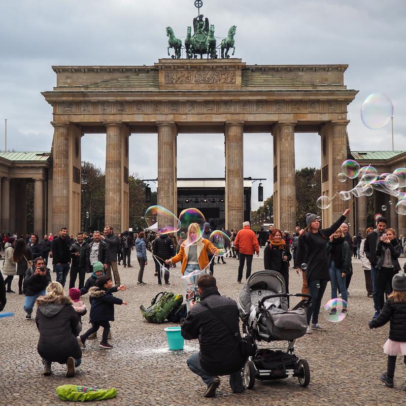 Porte de Brandebourg - incontournable à visiter à Berlin