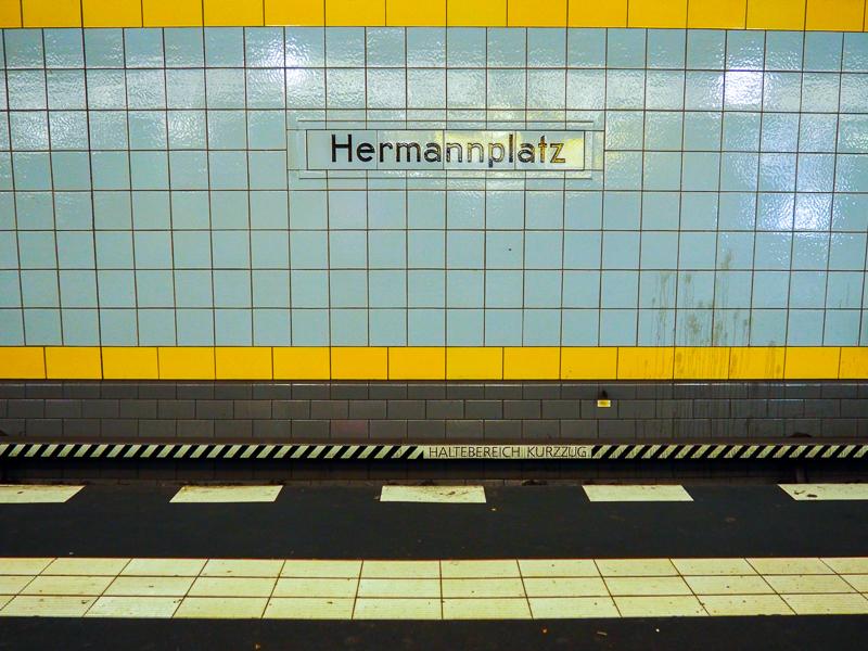 Station Hermannplatz à Berlin