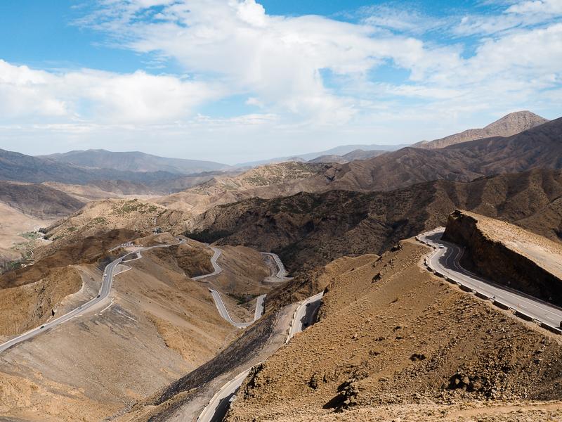 Itinéraire pour traverser la vallée du Dadès au Maroc