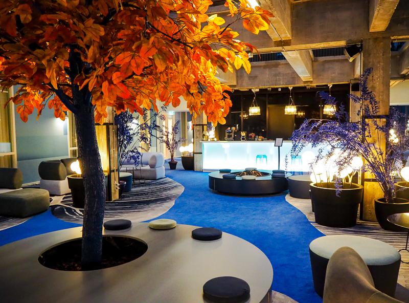 Bar de l'hôtel Room Mate Bruno de Rotterdam