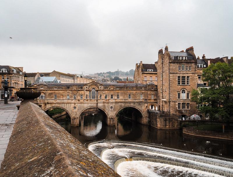 Pont Pulteney de Bath en Angleterre