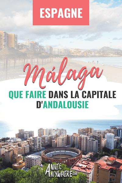Que faire à Malága? Musées, street art, château, plages et tapas! On ne s'ennuie pas dans la capitale de l'Andalousie! Pour mon premier voyage en Espagne, j'ai exploré la villes afin de découvrir ses incontournables et ses bonnes adresses. #malaga #espagne