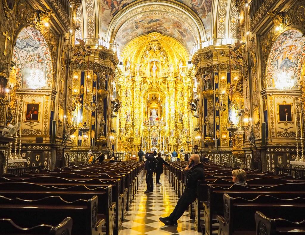 Que faire à Grenade - Visiter la Basilica San Juan de Dios