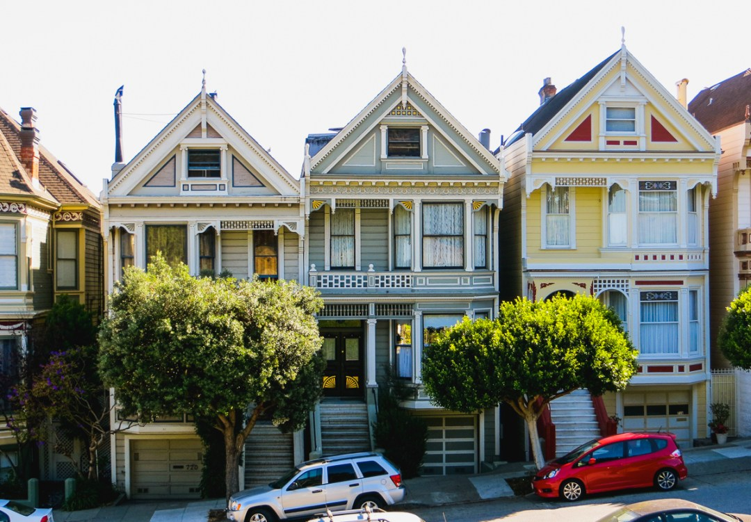 Road trip en Californie - Maisons de San Francisco