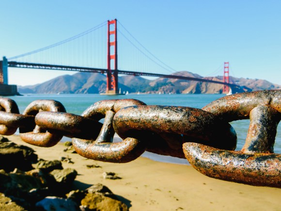 Golden Gate Bridge de San Francisco - Incontournable d'un road trip en Californie