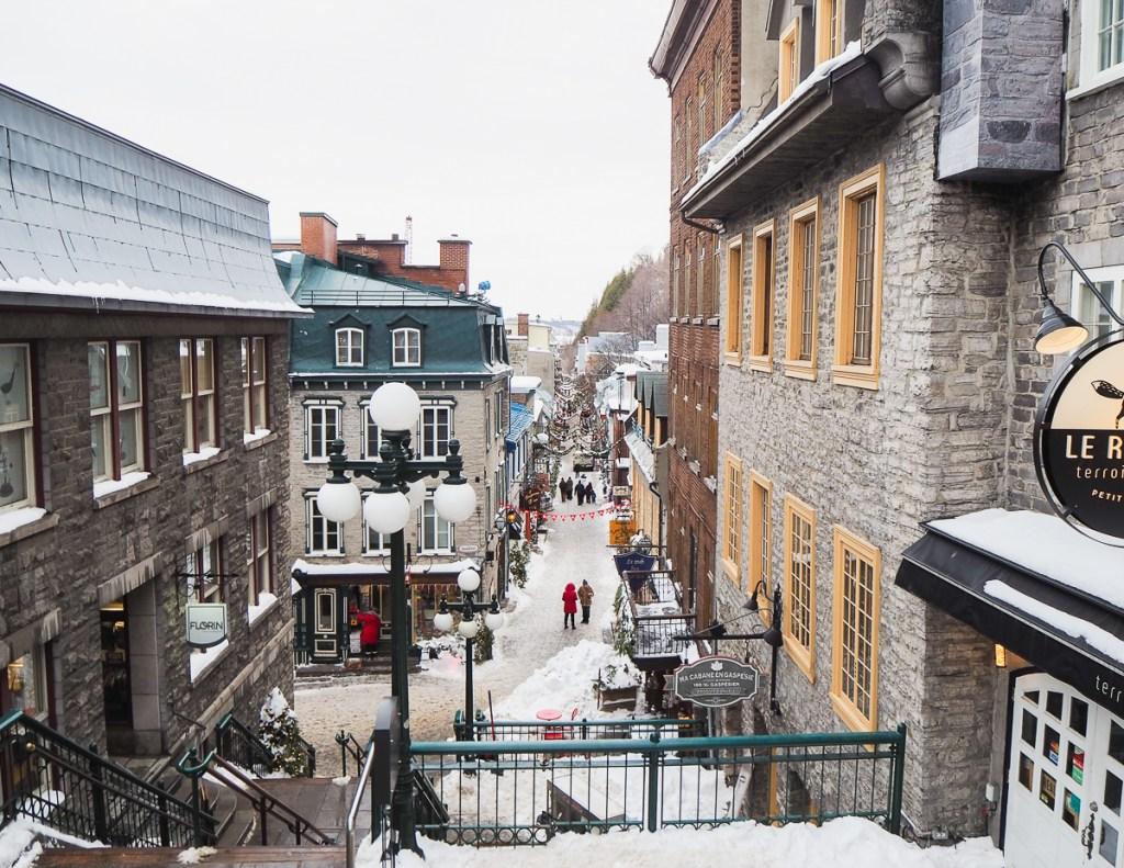 Quartier Petit-Champlain de Québec