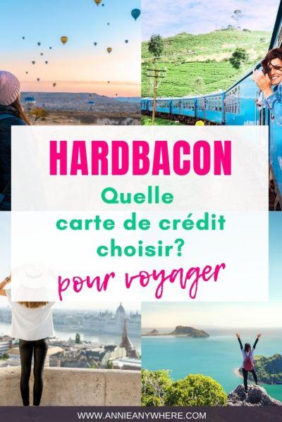 Quelle carte de crédit choisir pour voyager? Utilise le comparateur québécois Hardbacon pour découvrir laquelle est la meilleure option pour toi.