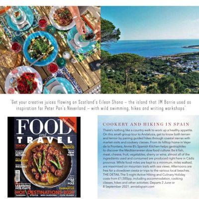 Annie B in Food & Travel, March 2121