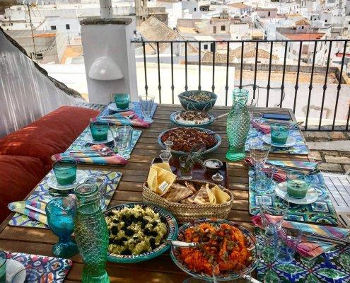 Mediterranean Summer Lunch