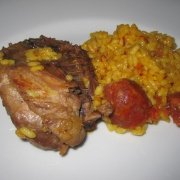 partridge with rice