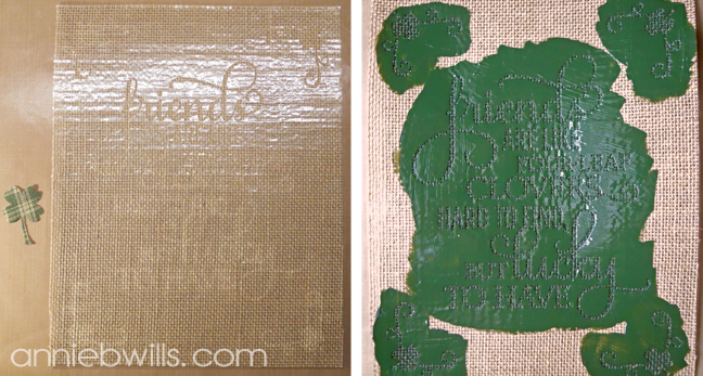 st-patricks-day-burlap-art-by-annie-williams-fabric-paint