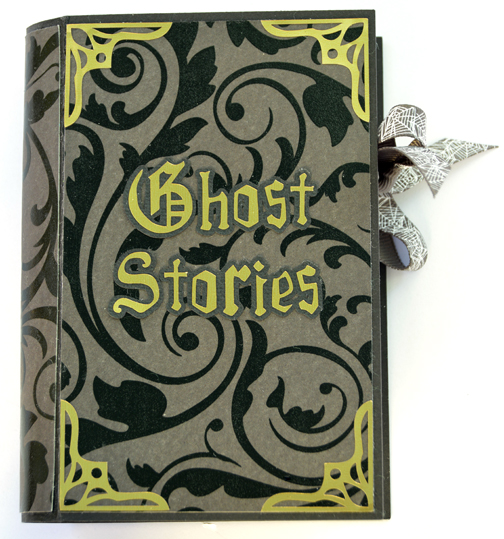 Halloween Book Treat Boxes by Annie Williams - Ghost Stories Detail