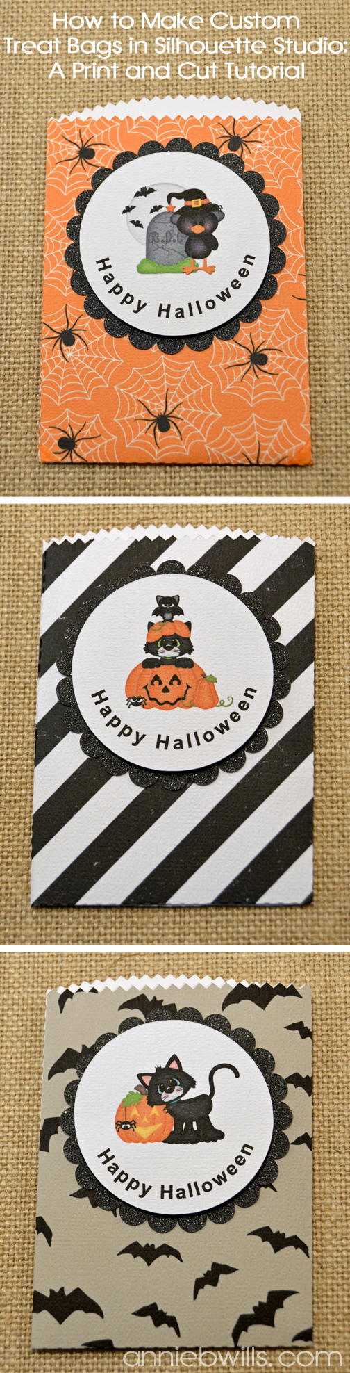 Print and Cut Halloween Treat Bags by Annie Williams - Main