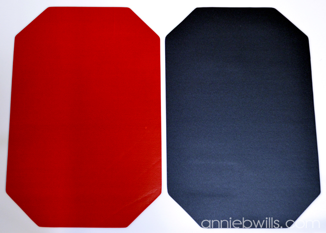 Holiday Chalkboard Placemats by Annie Williams - Adhere Chalkboard Vinyl