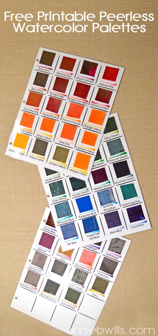 Peerless Watercolor Palettes - Main