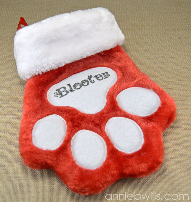 Personalized Pet Stocking by Annie Williams - Full