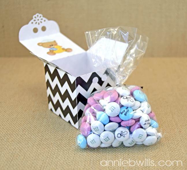 Baby Announcement Favors by Annie Williams - Contents