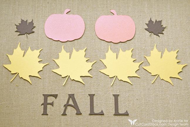 Fall Banner by Annie Williams - Die-cutting