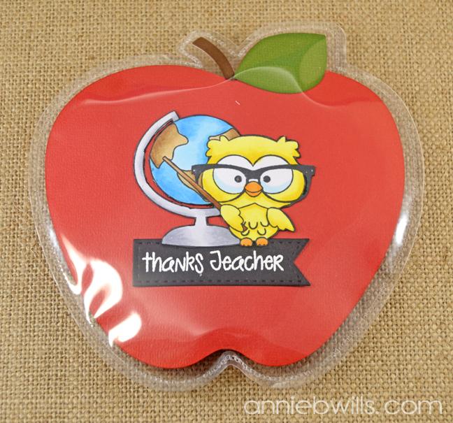 Teacher Thank You Gift Pockets by Annie Williams - Globe Detail