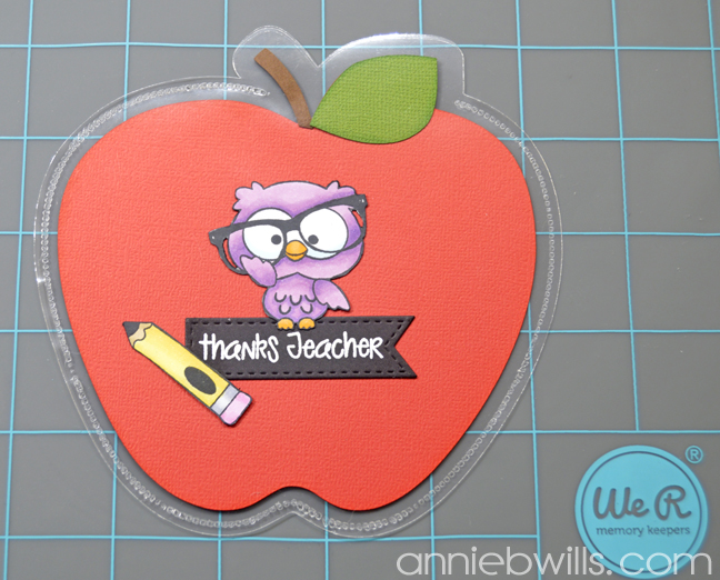 Teacher Thank You Gift Pockets by Annie Williams - Leave Opening