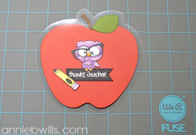 Teacher Thank You Gift Pockets by Annie Williams - Sandwich Insert