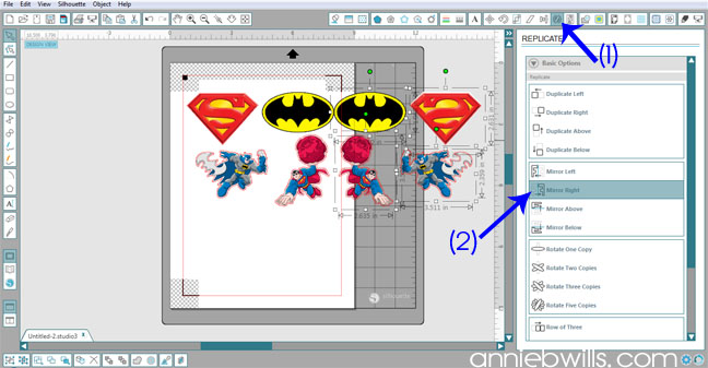 Superhero Onesies by Annie Williams - Mirror Designs