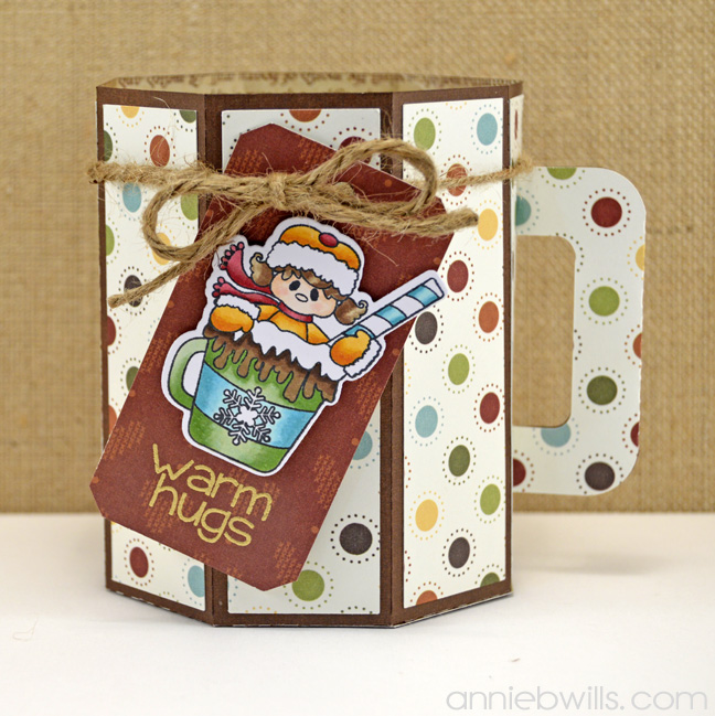Hot Cocoa Gift Box by Annie Williams - Empty
