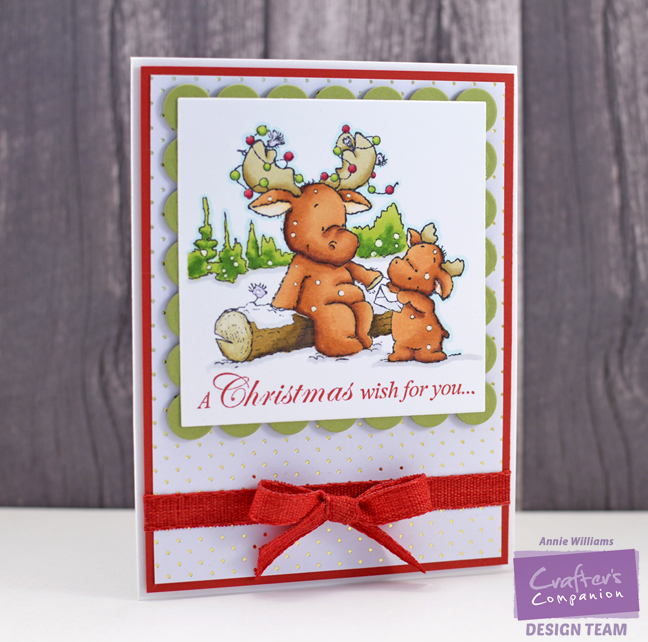 Christmas Wishes Card by Annie Williams - Main