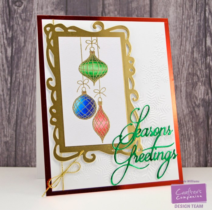 Sparkle and Shine Christmas Card by Annie Williams - WM