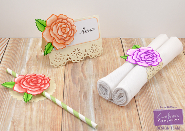 Springtime Rose Party Decor by Annie Williams - Main