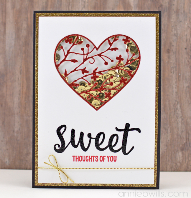 Sweet Shaker Card by Annie Williams - Full