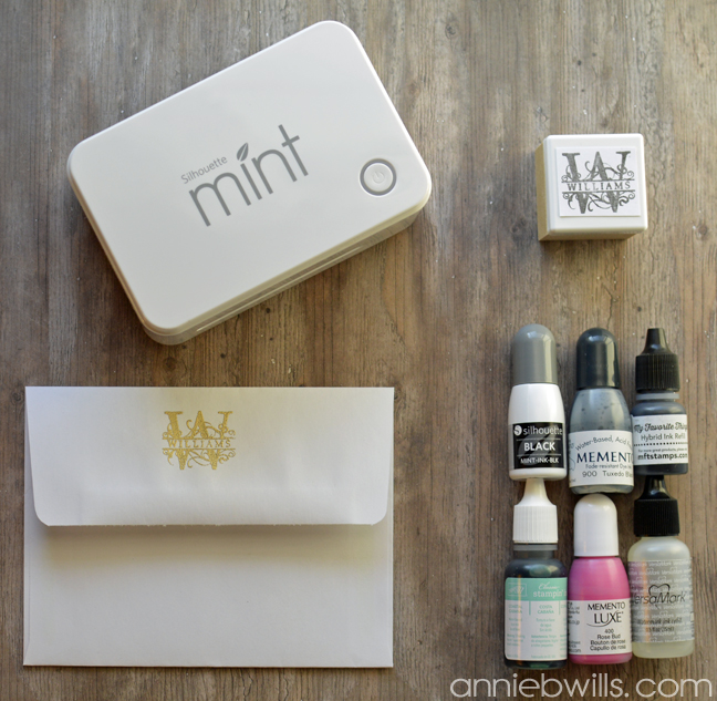 Using Other Inks with Your Silhouette Mint by Annie Williams - Main