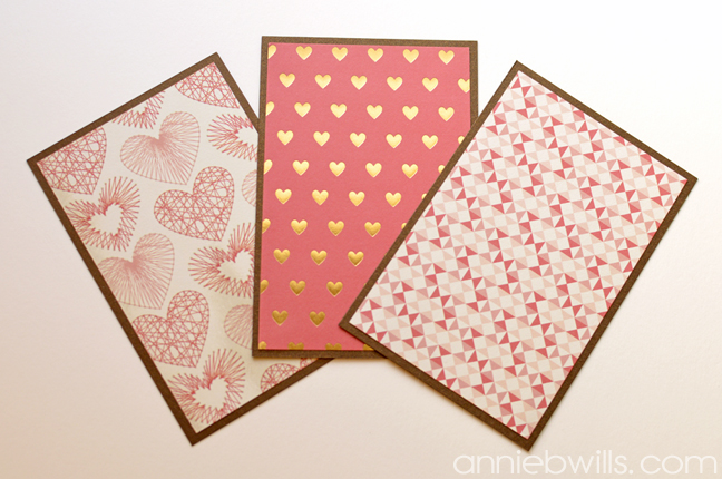 Valentines Day Gift Card Wallet by Annie Williams - Matting