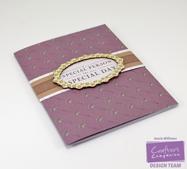 Downton Abbey Wallet Card by Annie Williams - Outside