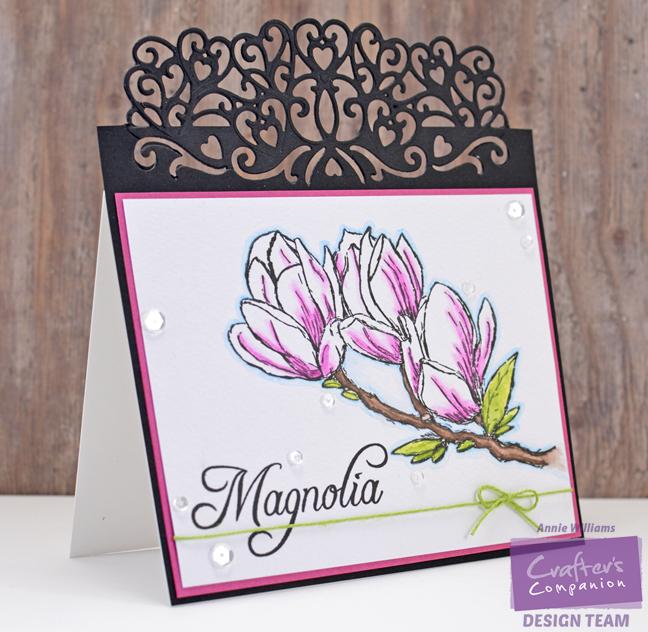 Magnolia Card by Annie Williams - Main