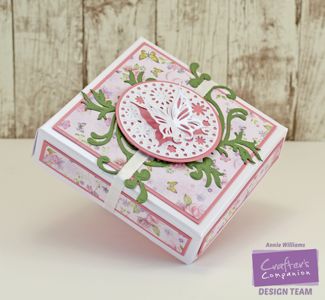 Butterfly Gift Box By Annie Williams - Main
